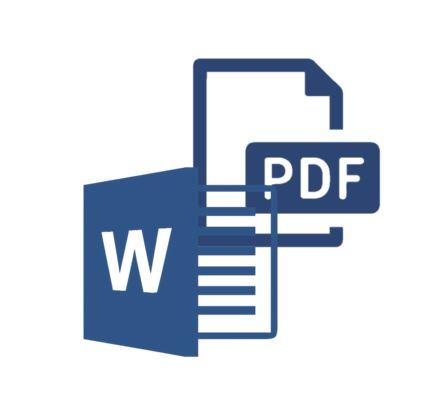 چگونگی تبدیل فایل pdf به word